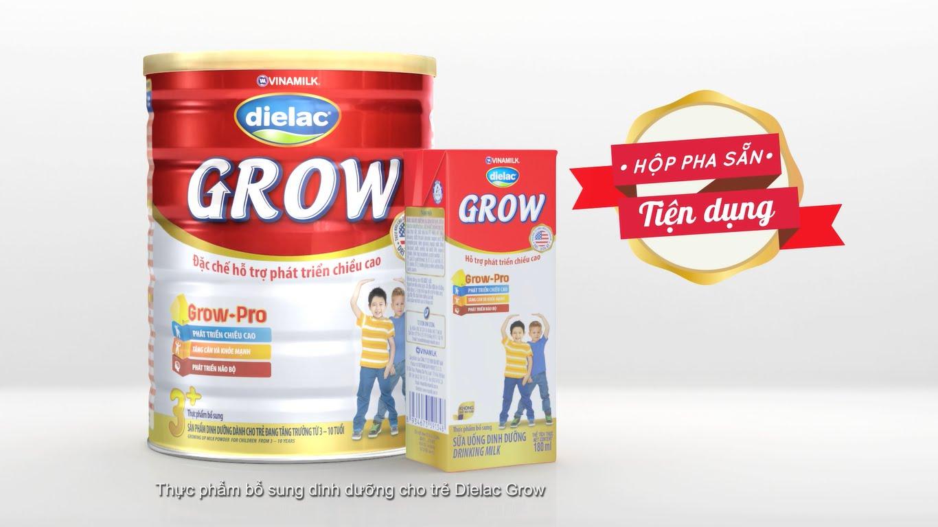 Các loại sữa phát triển chiều cao như Dielac Grow, Hikid, Abbott Grow có tốt không?