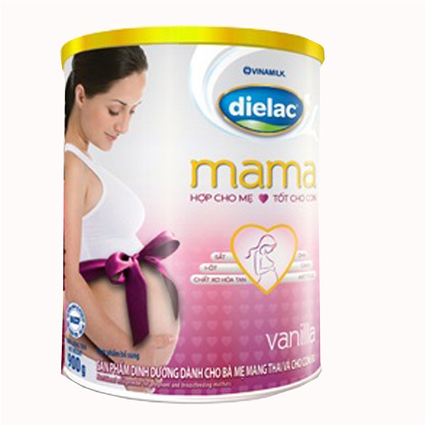 Sữa bột Dielac mama – sự lựa chọn tốt cho các chị em phụ nữ mang thai