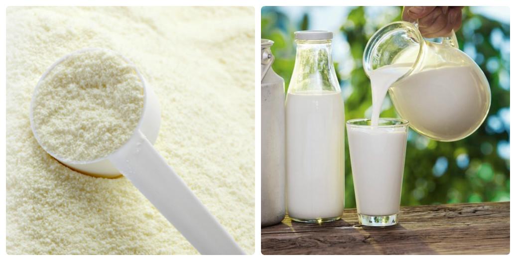 Trẻ từ 1 tuổi có thể uống cả sữa tươi và sữa đặc
