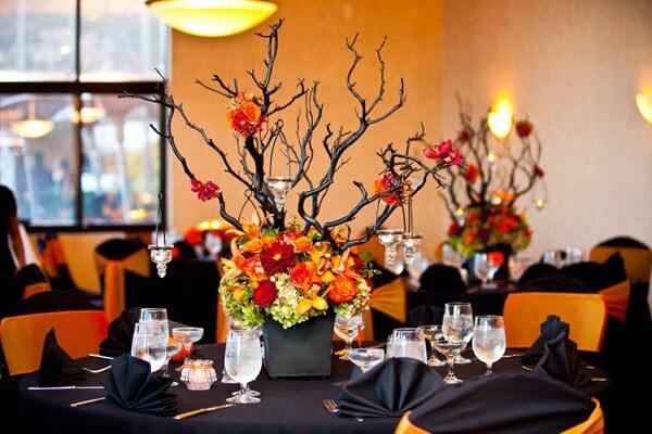 Màu sắc hoa cưới mùa thu