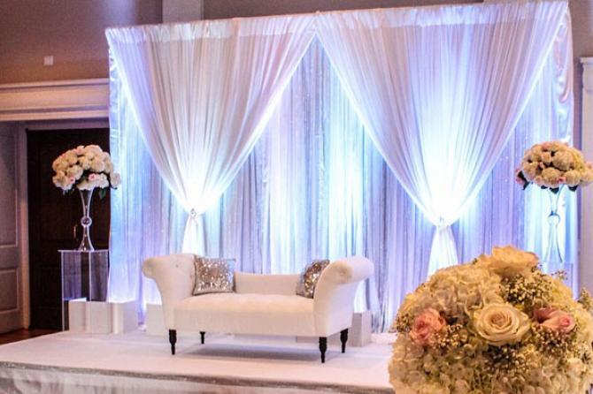 Trang trí sân khấu theo phong cách Ấn Độ cho trung tâm tiệc cưới tại HCM – kỳ 2