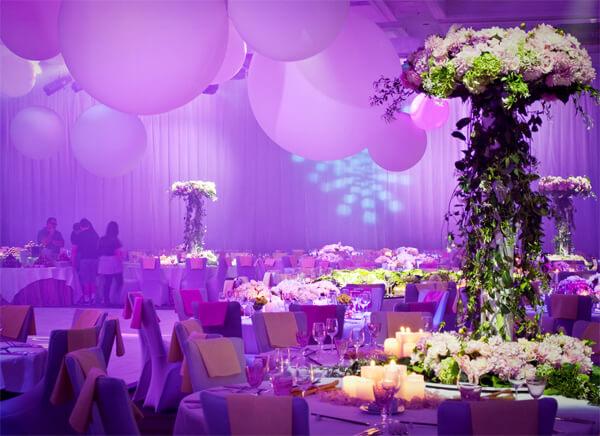 Bật mí cách trang trí đám cưới đẹp với hoa tươi