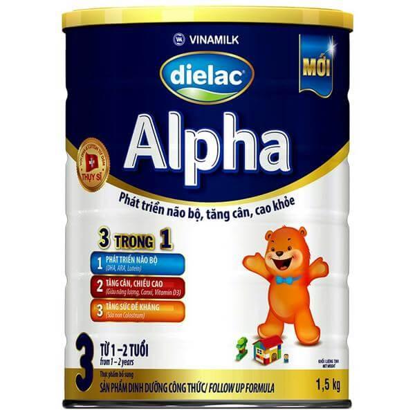sữa Dielac alpha step 2 cho trẻ