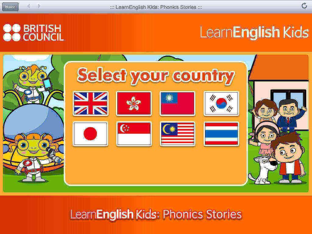 Phonics Stories cho bé học tiếng Anh