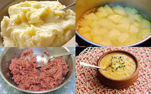 Cách chế biến cháo thịt bò khoai tây giàu dinh dưỡng