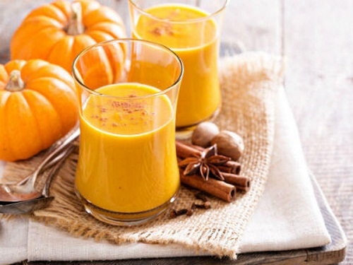 sữa bí đỏ thơm ngon bổ dưỡng