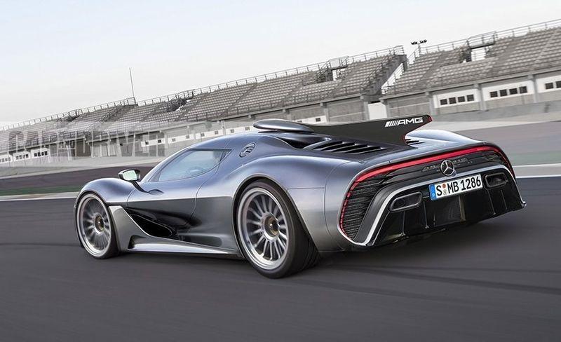 Siêu xe AMG Project One của Mercedes