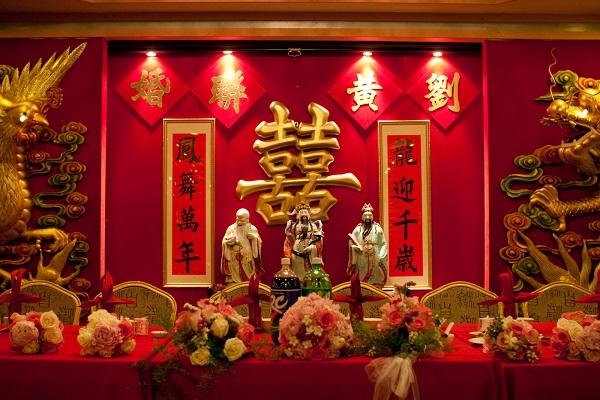 Phong tục cưới hỏi truyền thống của người Hoa