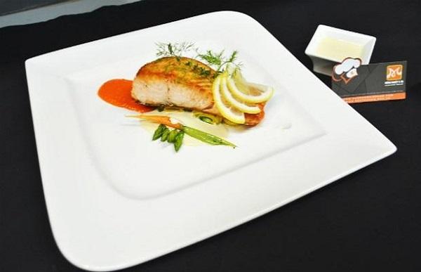 Cá hồi sốt kem chanh – Giàu dinh dưỡng và tươi ngon