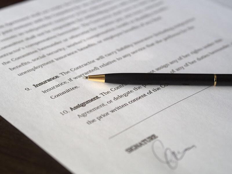 Những cụm từ tiếng Anh hay dùng trong hợp đồng