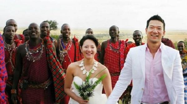 Đám cưới hoang dã tại khu cắm trại Safari, Maasai Mara