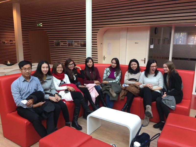 Các bạn sinh viên được hội nhập khi theo học trường Đại học quốc tế