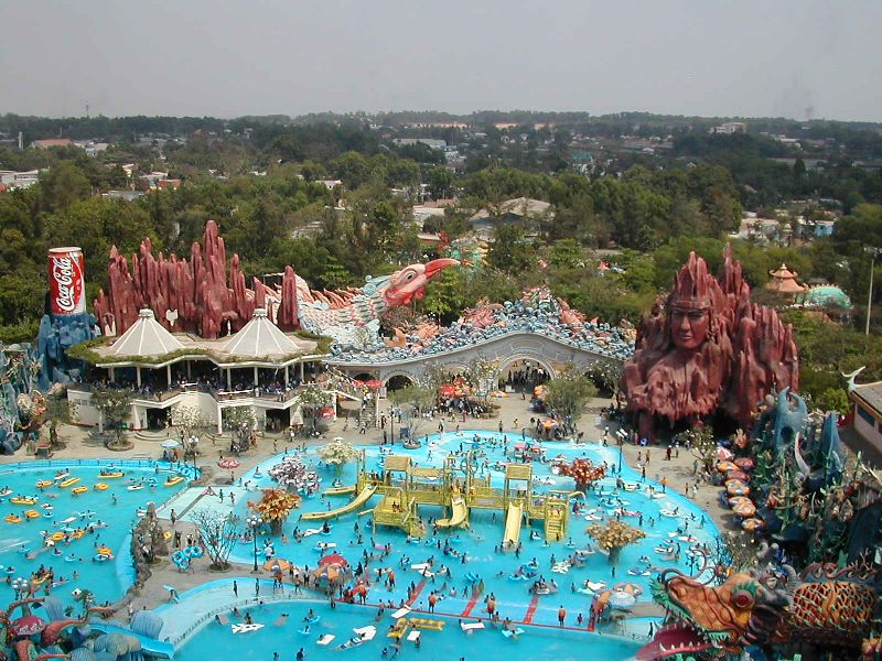 Water Park in Ho Chi Minh City